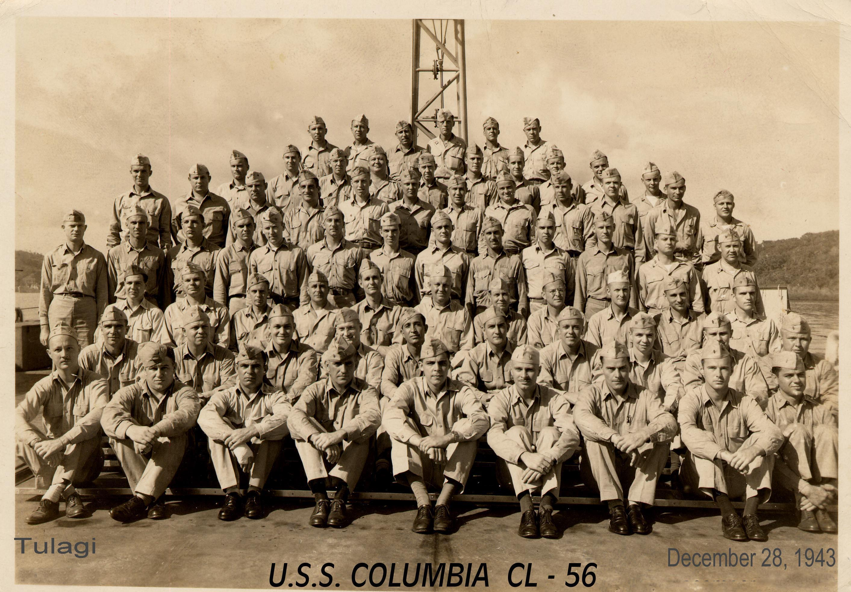 71 Officers Dec 28 1942