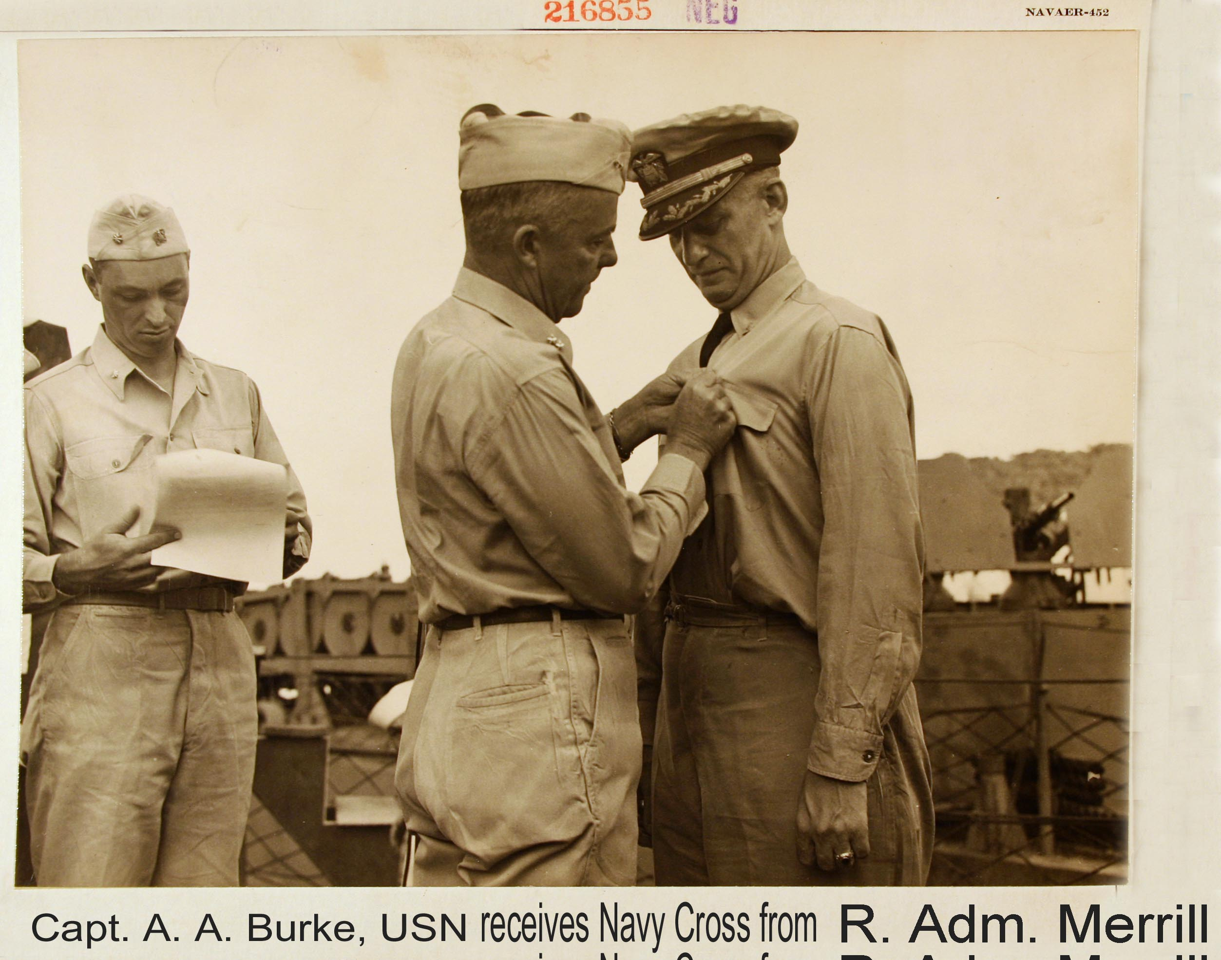 Captain Burke receives award