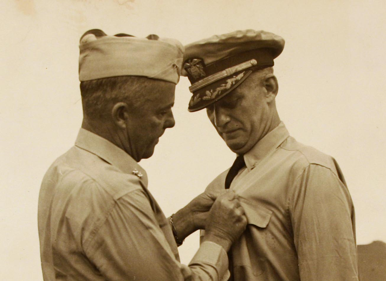 Capt. Burke receives award 2