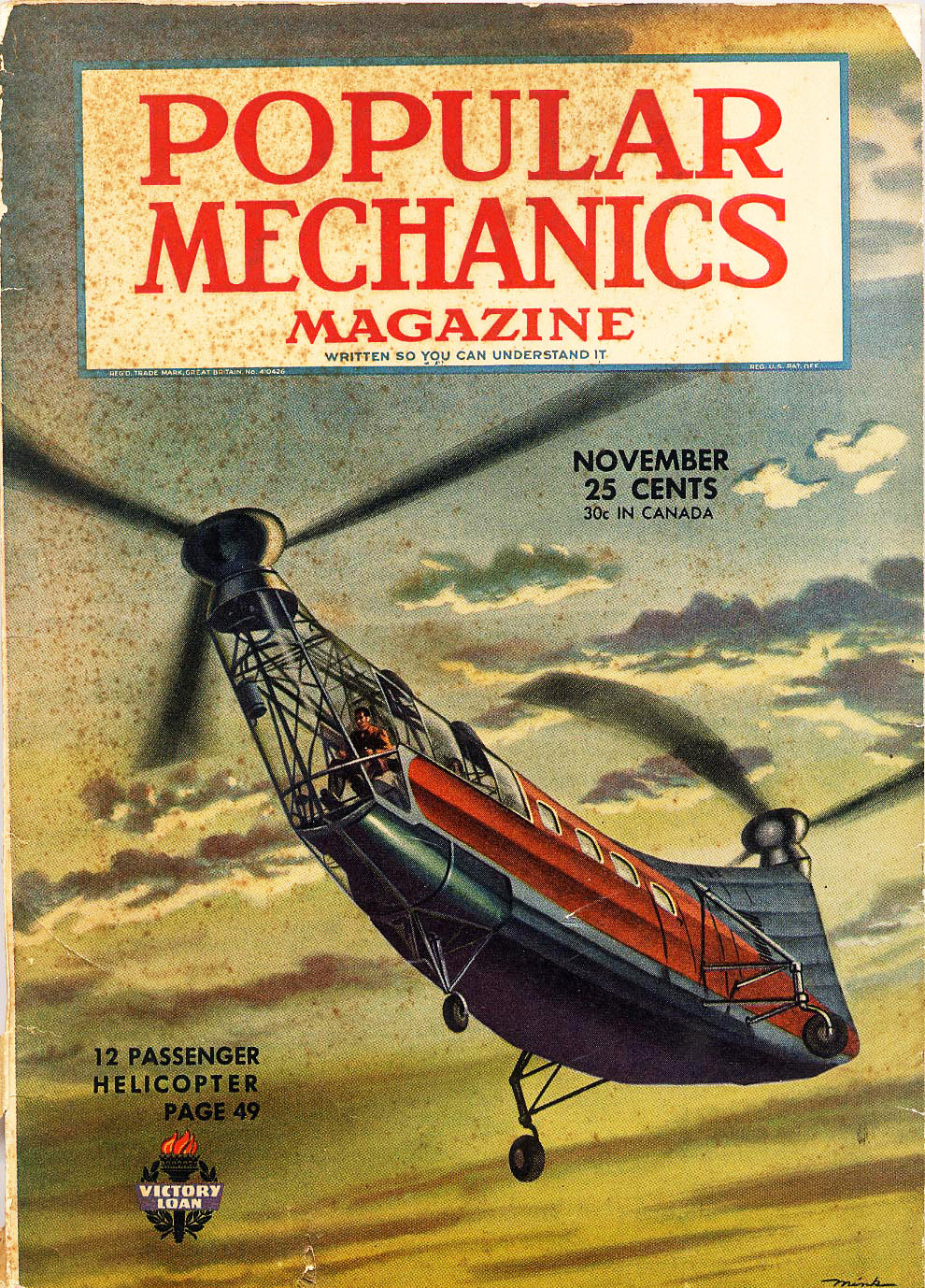 Cover of mag