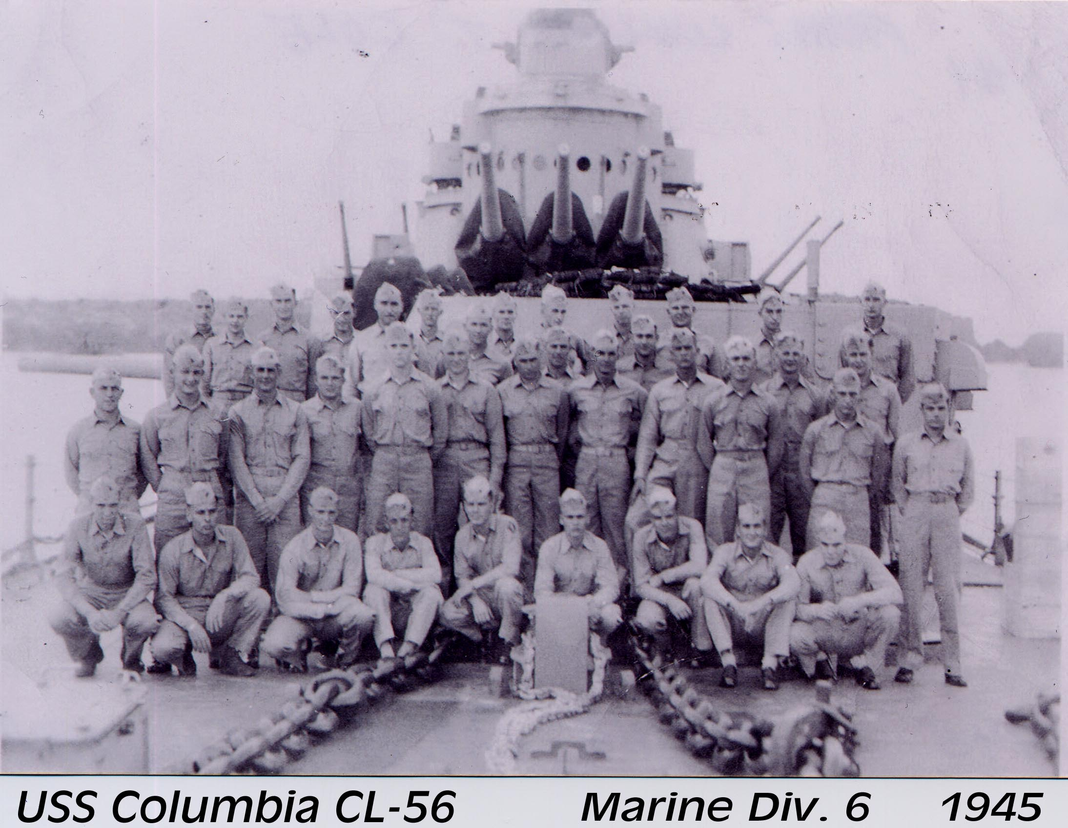 picture of 6th Division Marines
