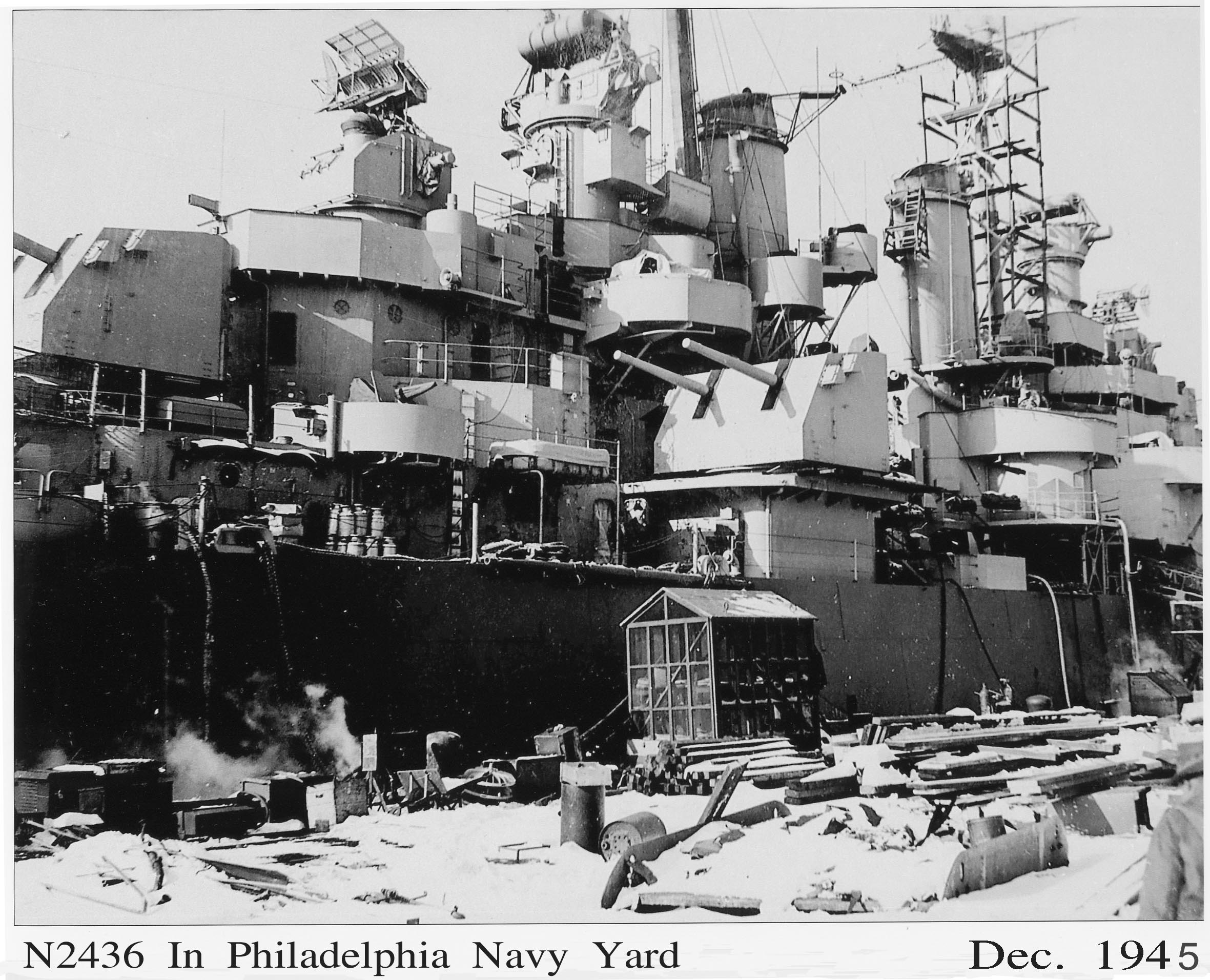 picture of Columbia in Phily Navy Yard