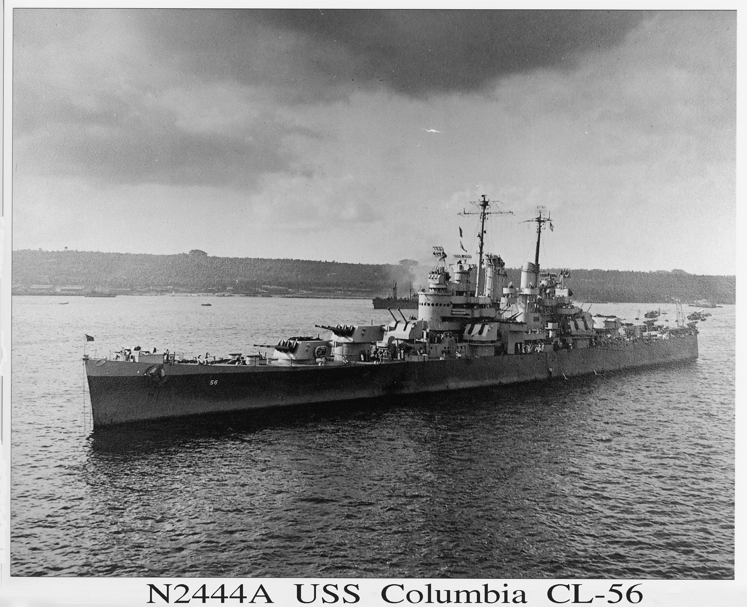 Columbia picture N2444A black and white